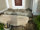 Masonry Repair Needed (Before Photo) 3