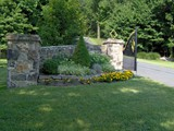 Natural Stone Gateway Entrance2