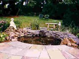 Patio and Pond Creation 2